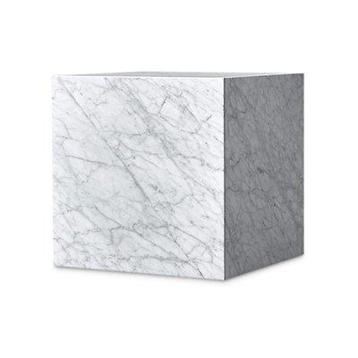 The Grand PIENO CARRARA Side Table White