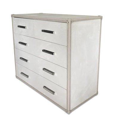 The Grand RALPH Cabinet Ivory Velvet