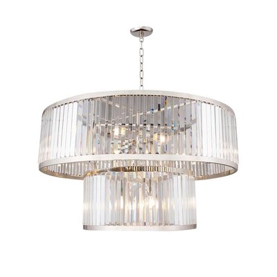 The Grand MARINELLA Chandelier Silver