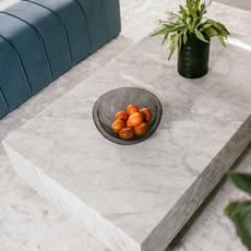 The Grand PIENO CARRARA  Coffee Table White Rectangular