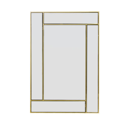 The Grand CUBISMO Wall Mirror Gold 60x90