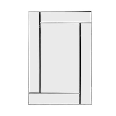 The Grand CUBISMO Wall Mirror Silver 60x90