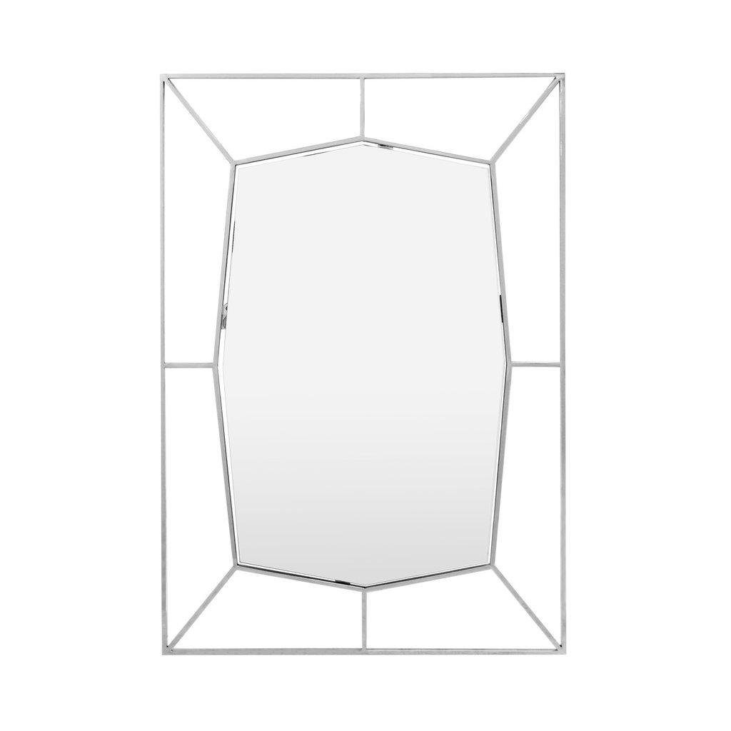 The Grand NETTA Wall Mirror Silver 67x100
