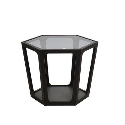 The Grand AMADEO Coffee Table Smoke Glass 70cm
