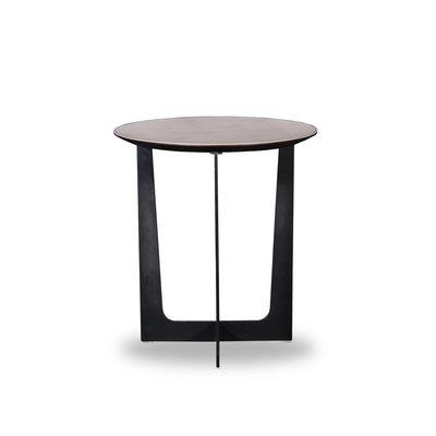The Grand ROSA Coffee Table Charcoal Oak 52cm
