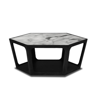 The Grand AMADEO Coffee Table White Marble 90cm
