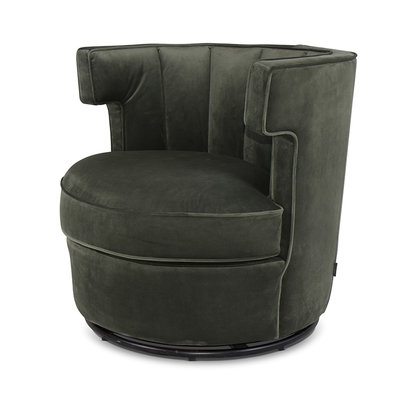 The Grand DEBUSSY Arm Chair Forest Green Velvet