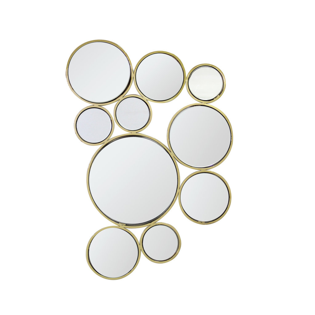 The Grand SPUMANTE Wall Mirror Gold 90x60