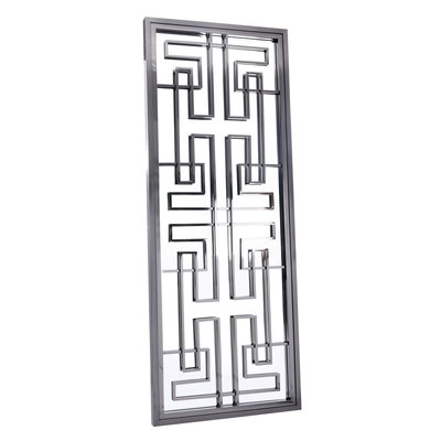 The Grand LABYRINTH Wall Mirror Gunmetal 85x220