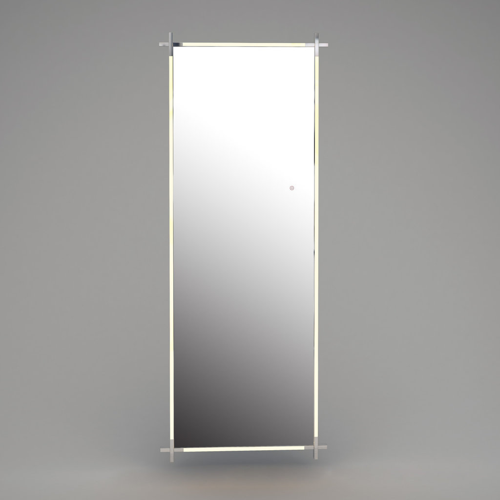 The Grand CITY LIGHTS Wall Mirror Silver LED 85x220