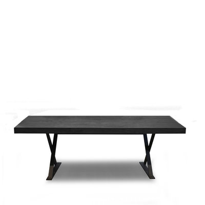 The Grand ELIO Dining Table Charcoal Oak