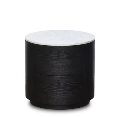 The Grand ALDO Side Table White Marble