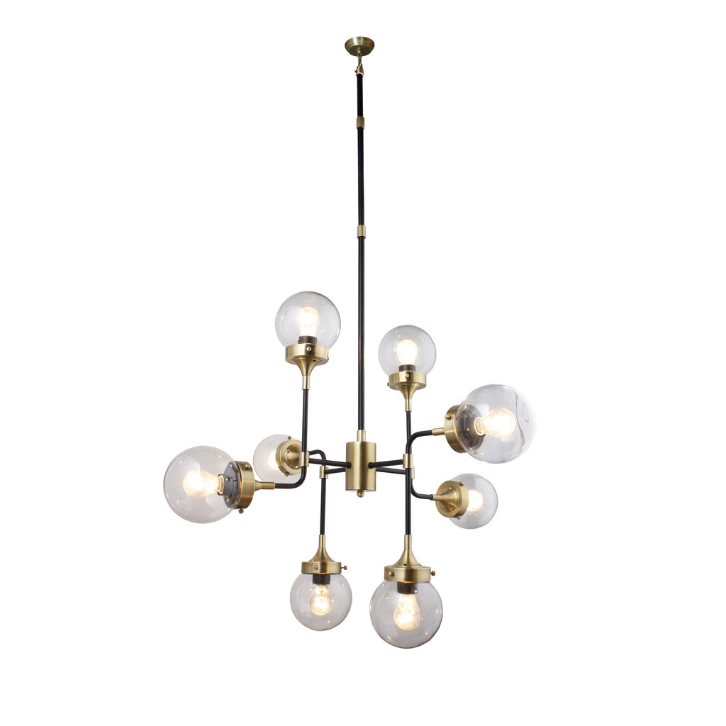 The Grand PIPES Chandelier Clear