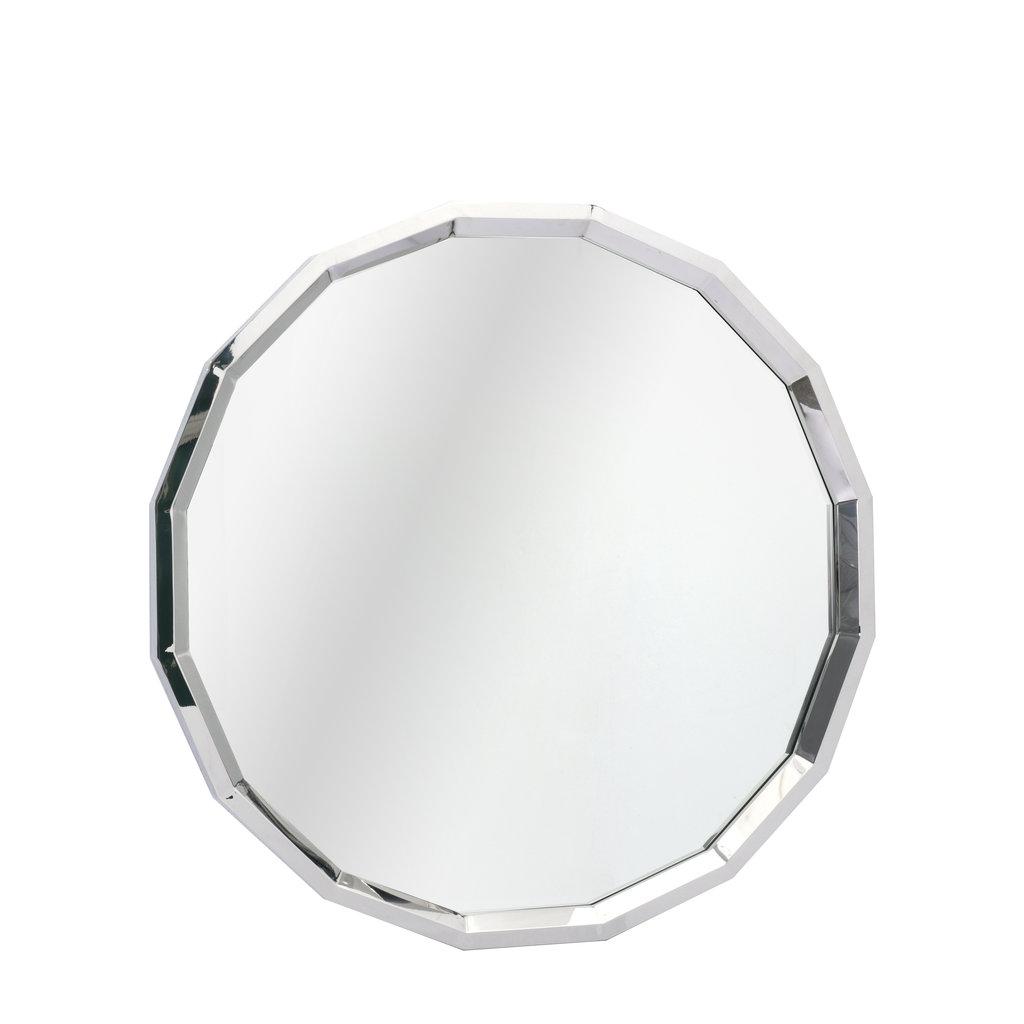 The Grand GARNET Wall Mirror Silver