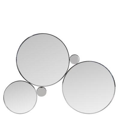 The Grand ALBA Wall Mirror Silver