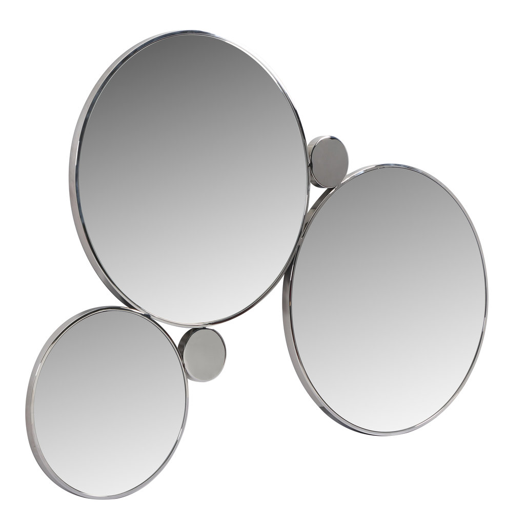 The Grand ALBA Wall Mirror Silver