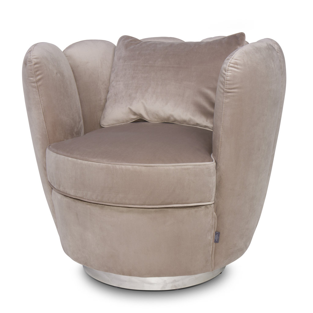 The Grand ACOLYTE Arm Chair Pine Green Velvet
