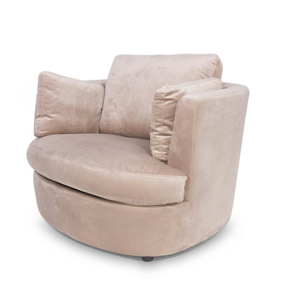 The Grand TREVI Arm Chair Champagne Velvet