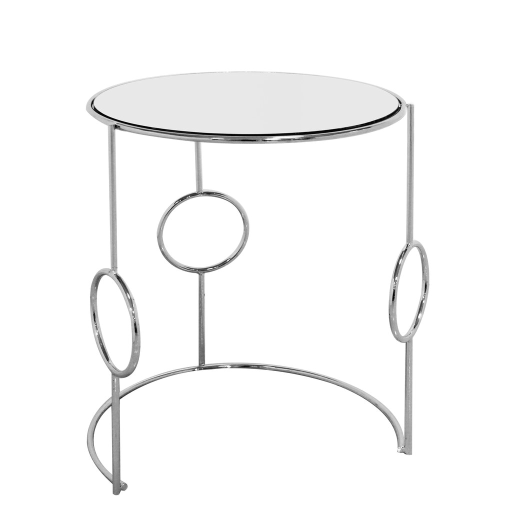 The Grand VENEZIA Side Table Set Silver