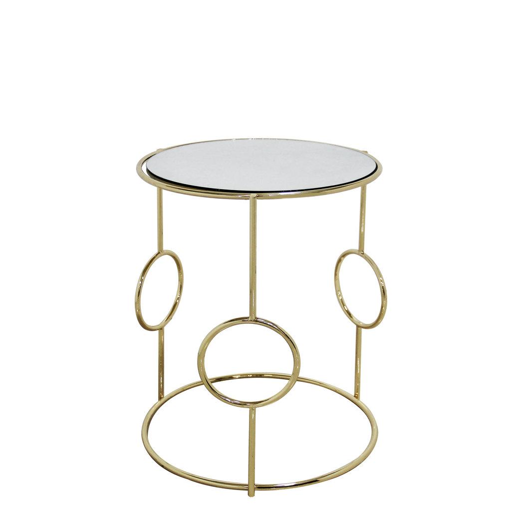 The Grand VENEZIA Side Table Set Gold