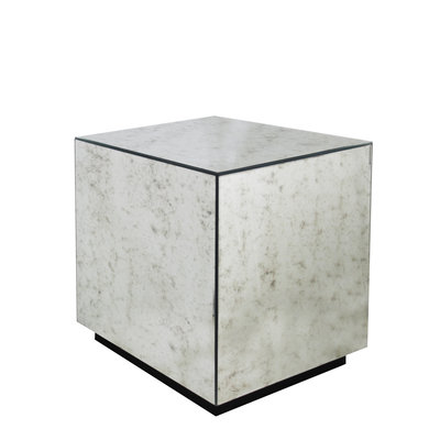 The Grand CUBE Side Table Antique