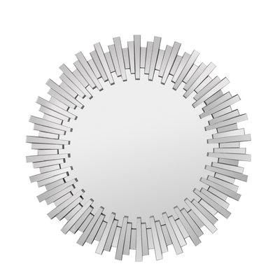 The Grand SOLEIL Wall Mirror Silver 100x100