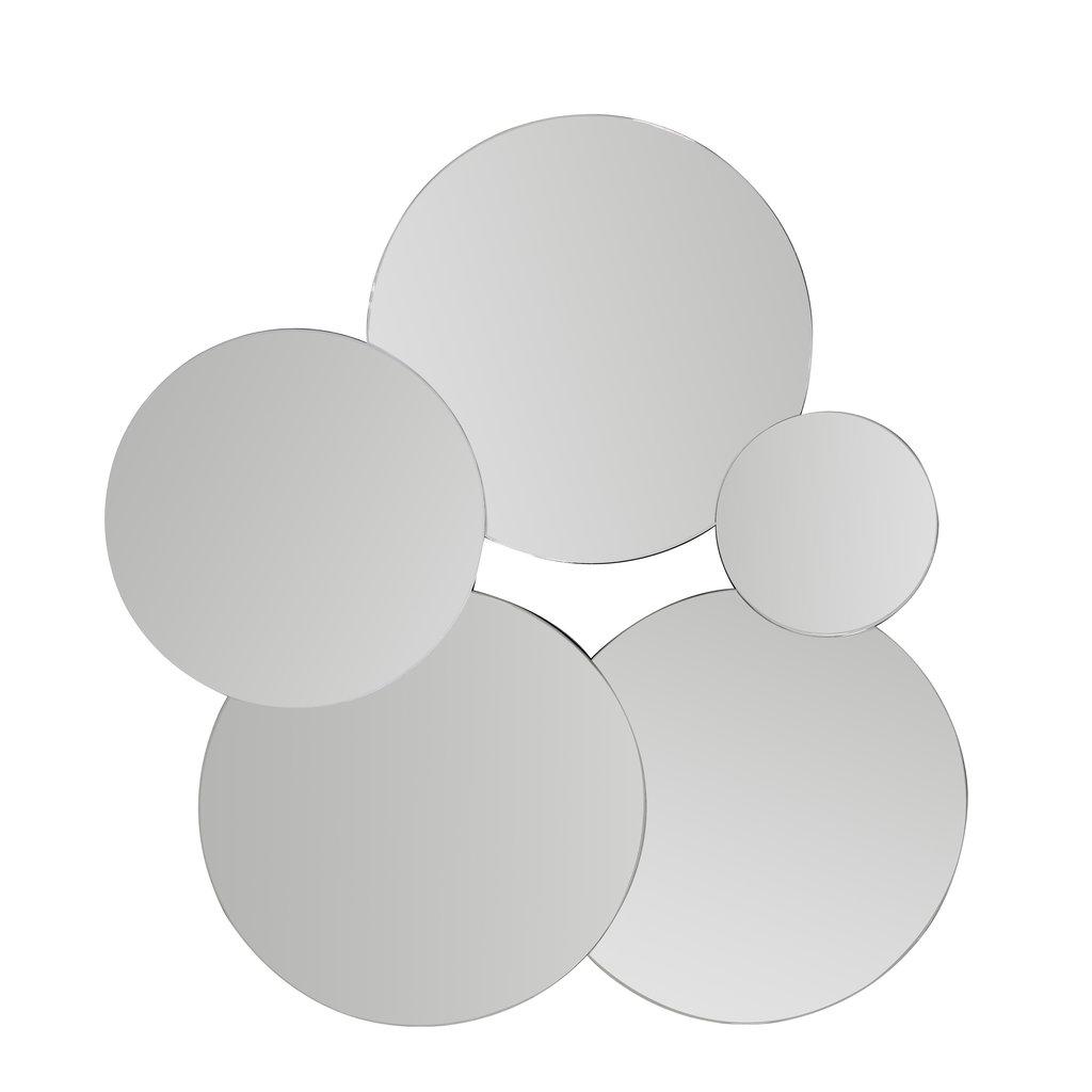 The Grand VALENCIA Wall Mirror Silver 107x113