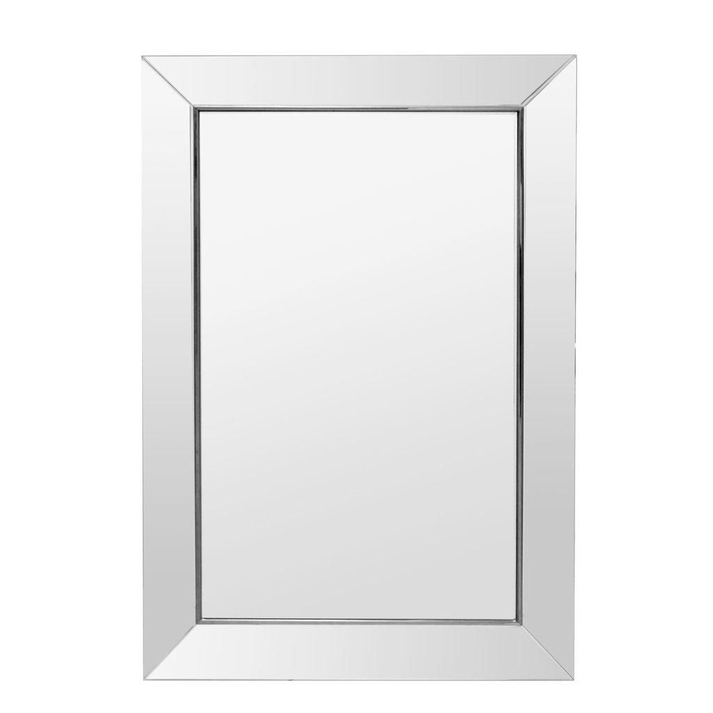 The Grand HAMPTONS Wall Mirror Silver 81x121