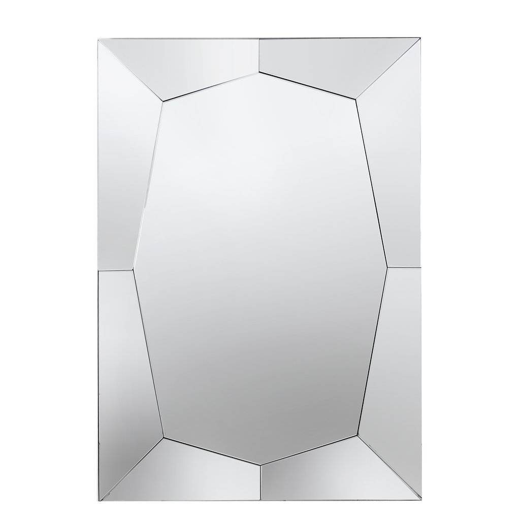 The Grand REGENT Wall Mirror Silver 120x80
