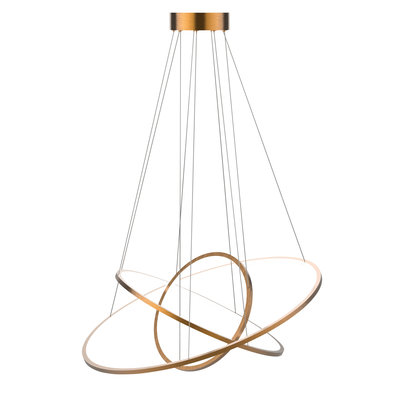 The Grand HALO Ceiling Light Rose Gold
