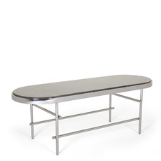 The Grand CESARIO OVAL Coffee Table Silver