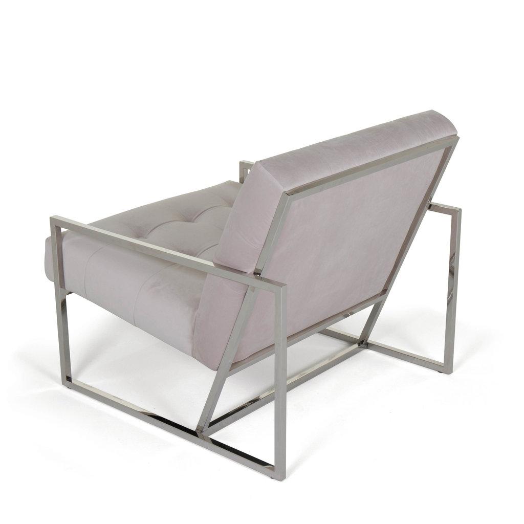 The Grand MAHORA Arm Chair Beige Velvet