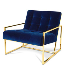 The Grand MAHORA Arm Chair Navy Velvet