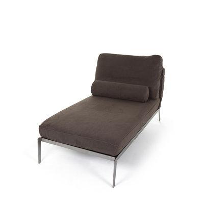 The Grand MONACO Chaise Longue Brown Nubuck