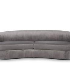 The Grand UFFIZI Sofa Dove Grey Velvet