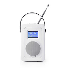 Artsound Artsound R4W Wireless FM//DAB+ internetradio Wit