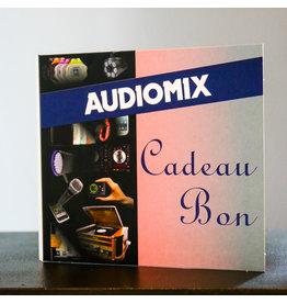 Audiomix cadeaubon
