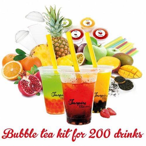 Kit di avviamento per il Bubbletea alla frutta