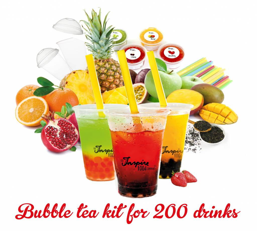Bubble fruit tea Kit