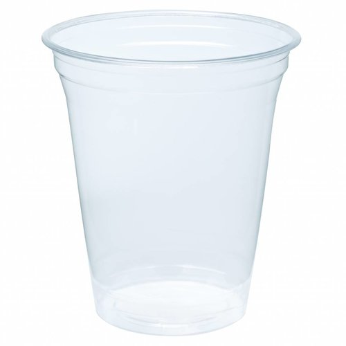 Biodegradable - Bioplastic cups 360ml Blanko