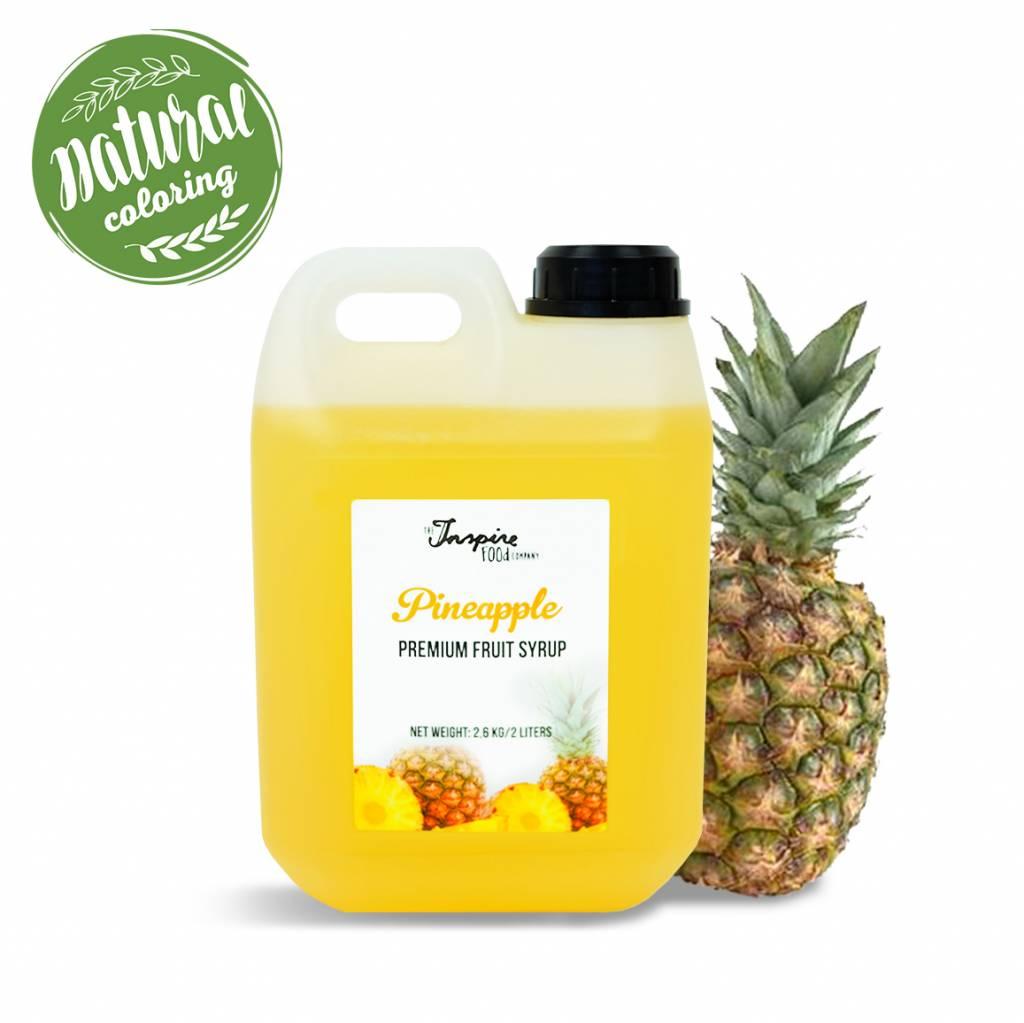 Premium - Piña - Jarabe de frutas -