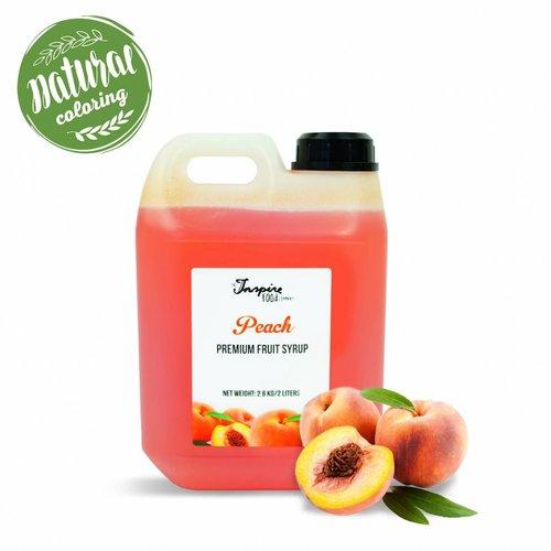 Premium - Peach - Fruit syrup