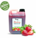Premium - Aardbei - Fruitsiroop -