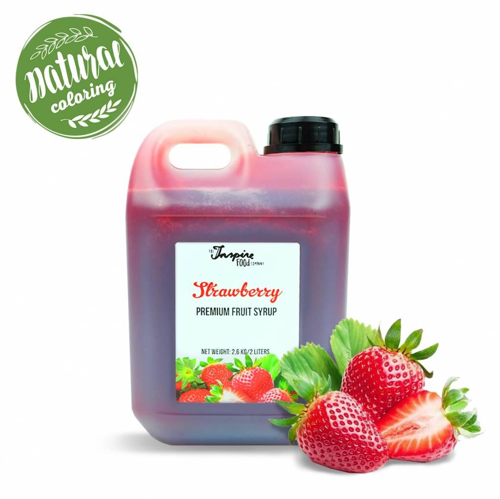Premium - Fragola - sciroppo di frutta -