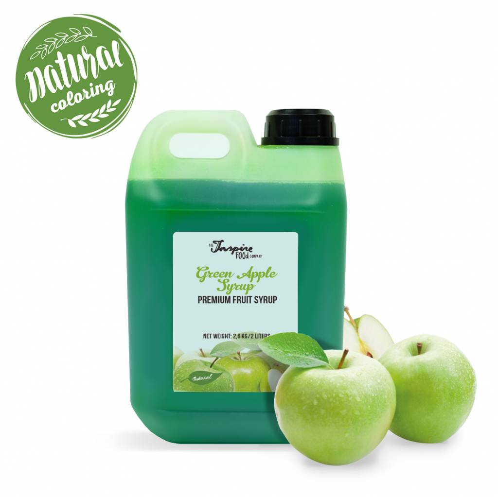 Premium - Green Apple - jarabe de frutas