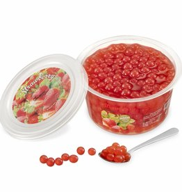 450gr cups Fruit parels Aardbei