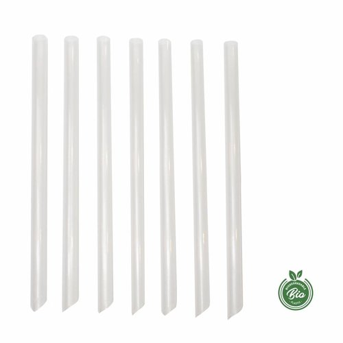 Biodegradable - Transparant straws for Bubbletea