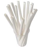Paper straws for bubble tea