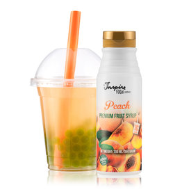 300 ml Premium - Peach - Fruit syrup -