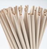 Pajitas de fibra de bambú